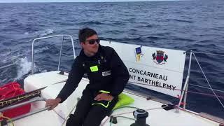 Première vidéo du bord - Bretagne CMB Performance