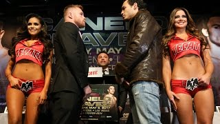 Live Stream: Canelo vs. Chavez, Jr. Official Weigh-In – Friday, May 5 at 5:30pm ET/2:30pm PT