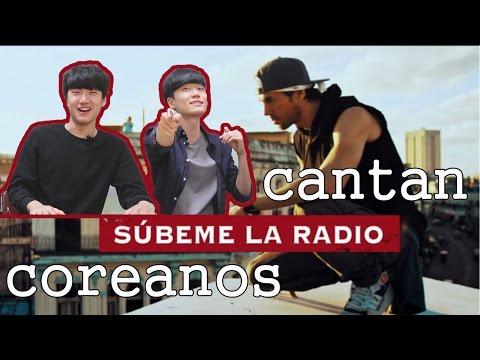 Coreanos Cantan 'SUBEME LA RADIO-Enrique Iglesias♥'│coreanita