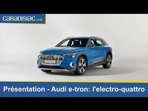 Audi e-tron: l'électro-quattro