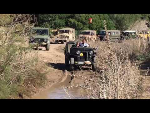 escuadrón sur willys-club jeep willys clásico de españa - youtube