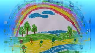Посмотри как хорош край, в котором ты живешь...Песенка детям. Рисунки детей.