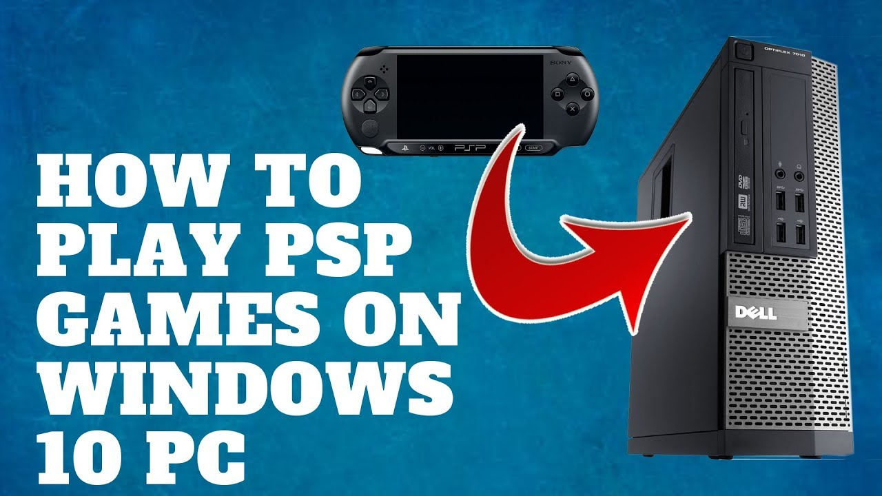 how to play ppsspp games on pc