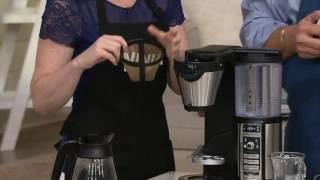 Ninja Coffee Bar Auto-iQ Coffee Maker w/ Glass Carafe & Recipe Book on QVC