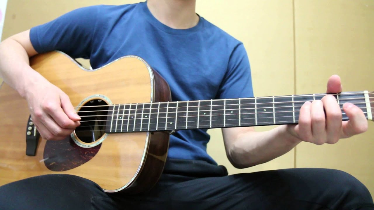 Beatles Yesterday Guitar Chords Tutorial Youtube