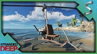BUILDING THE GYROCOPTER! FLYING IN STRANDED DEEP! - Stranded Deep [...