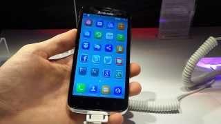 Lenovo A859 okostelefon bemutató videó | Tech2.hu