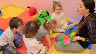 Урок Английского у детей 3-4 лет. Группа First Steps.