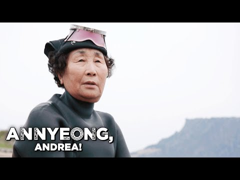 The 80-Year Old Women Divers of Jeju | Annyeong, Andrea!