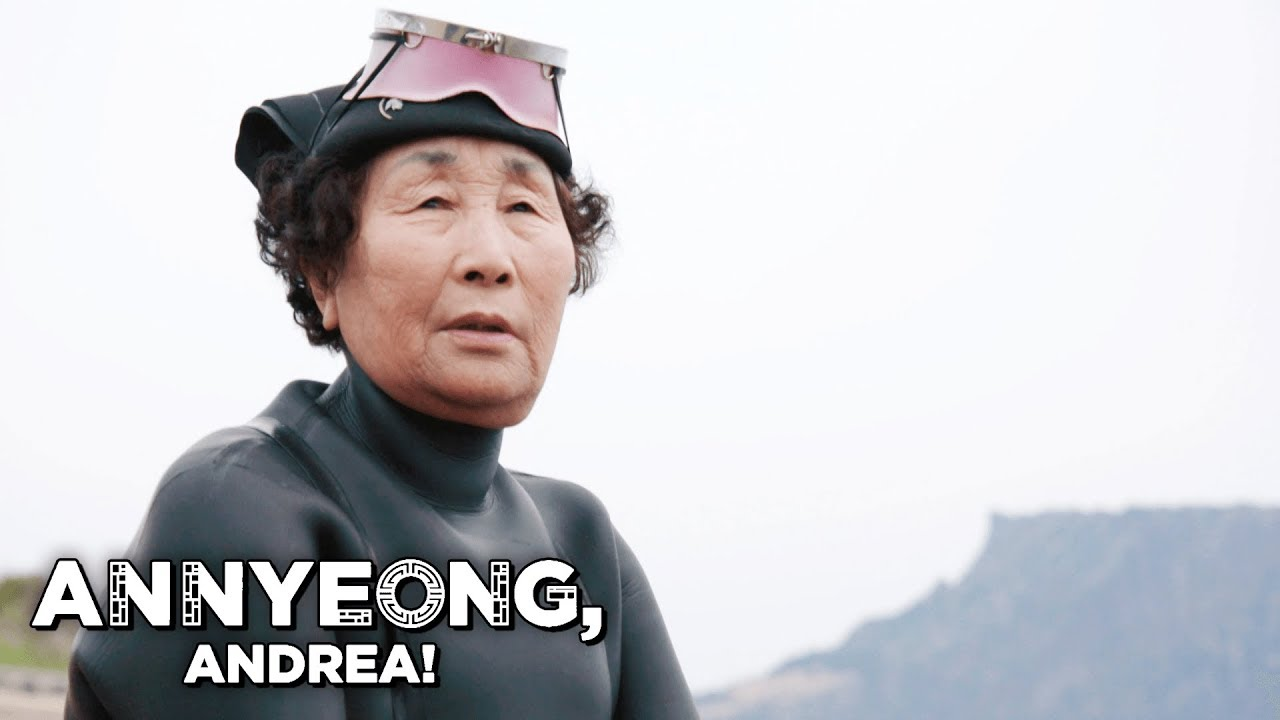 The 80-Year Old Women Divers of Jeju | Annyeong, Andrea