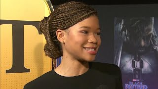 Storm Reid Gushes Over Working With 'Amazing' Oprah Winfrey on 'A Wrinkle in Time' (Exclusive)