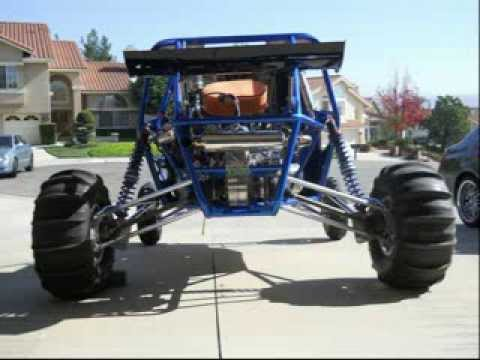 HYABUSA POWERED DRAKART LONG TRAVEL SAND CAR REVIEW VIDEO