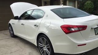 The Brand New 2016 Maserati Ghibli(Quick Review)