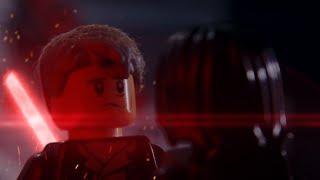 Lego Han Solo vs Kylo Ren full version /Spoiler/ Han Solo death scene by WLA
