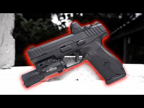 The Best New 9mm Pistol? - IWI Masada Review