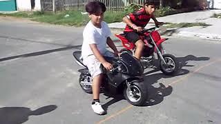 Corrida de Mini Moto Infantil