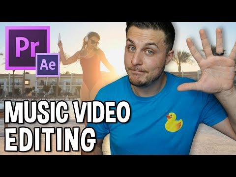 Music Video Editing Tutorial - Adobe Premiere and After Effects thumbnail