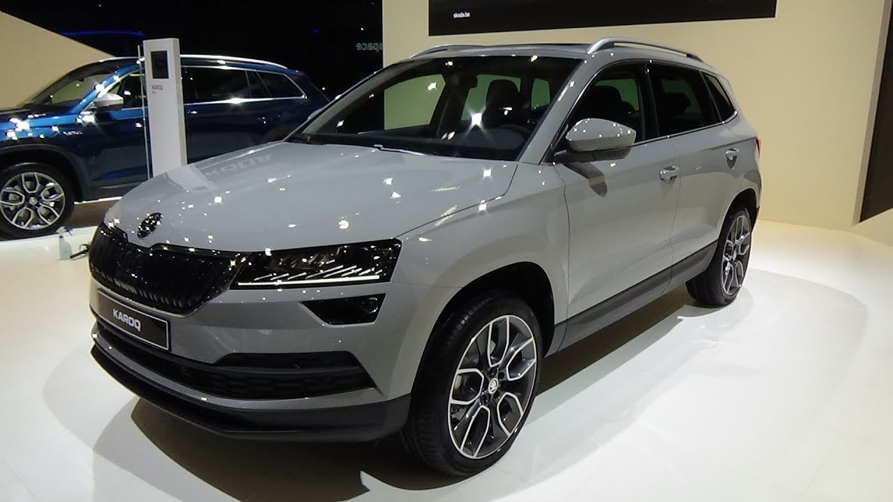 2018 skoda karoq style 1 6 tdi 115 exterior and interior auto show brussels 2018 youtube. Black Bedroom Furniture Sets. Home Design Ideas