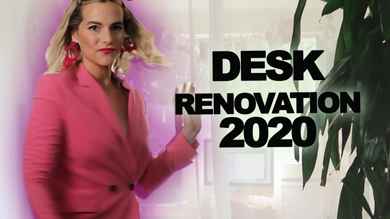 The Desk Makeover Content We All Deserve | Devin But Better