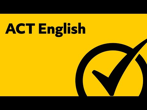 Complete ACT English Prep Study Guide