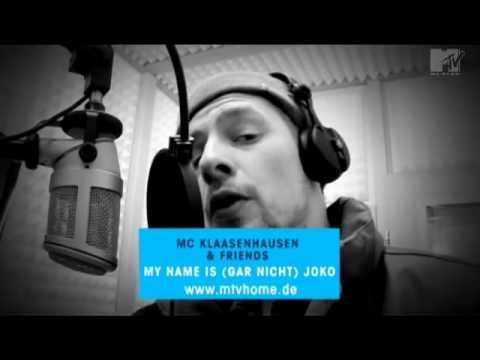 "MTV Home - Klaas disst Joko ""Joachim - Rap"""
