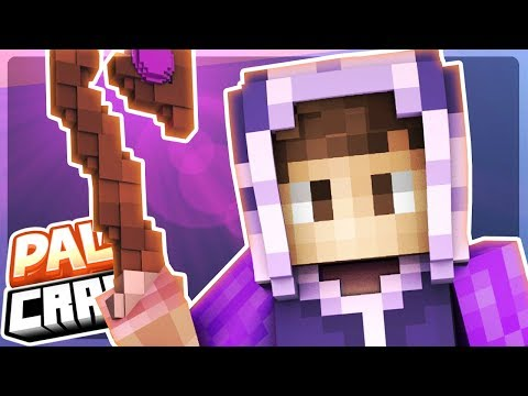 Becoming a POWERFUL WIZARD!! - PalsCraft Ep 8