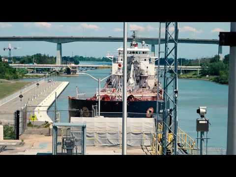 Algoma Central Corporation Radcliffe R. Latimer Welland Canal St. Catharines Ontario