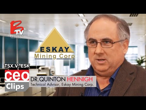 CEO Clips: Mac Balkam | Eskay Mining | Great Land Position In The Golden Triangle