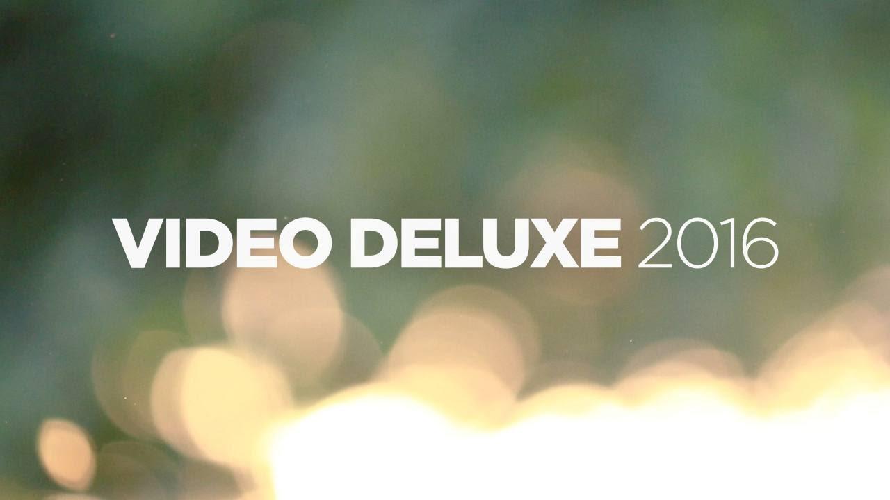 Magix Video Deluxe 2016 It Montaggio Video Youtube