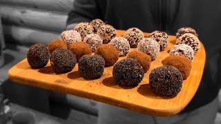 Простые домашние конфеты. Ручные конфеты рецепт. Простые рецепты конфет