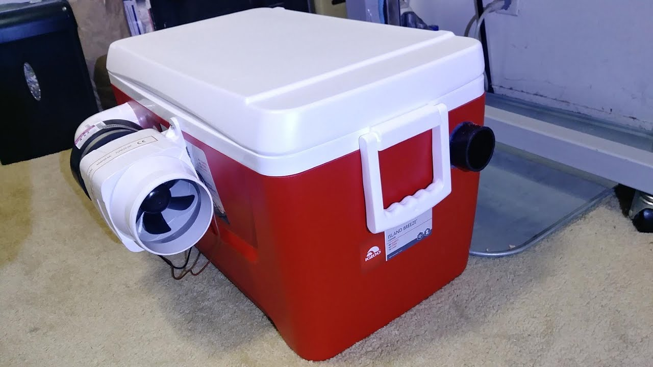 homemade portable air conditioner