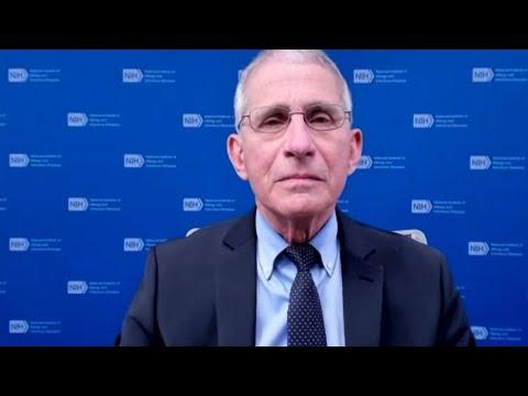 Dr. Fauci on Mutating Virus, Getting the Moderna Vaccine