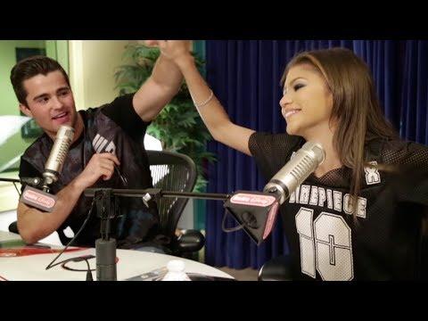 Zendaya and Maddy Controlling Spencer Boldman and Morgan  Radio Disney