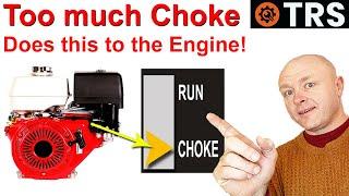 Using Too Much Engine Choke/How a Carburetor & Engine Work Together