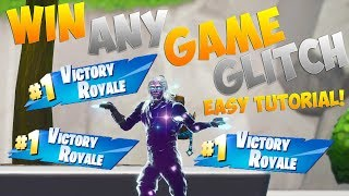 FORTNITE GLITCHES WIN EVERY GAME GLITCH (WINS COUNT) SEASON 9 GLITCHES!!