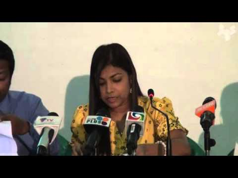 MDP news conference about SEZ bill