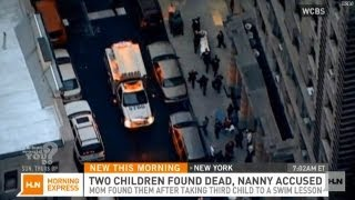 Two children stabbed to death, nanny accused