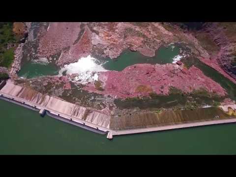 Black Eagle Dam and Train Crossing, Great Falls, Montana
