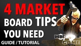 4 must know GIL TRICKS about the FFXIV MARKETBOARD! [Guide]