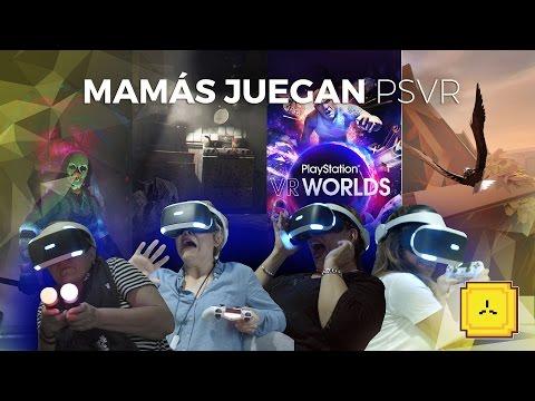 ¡Mamás latinas juegan PLAYSTATION VR!