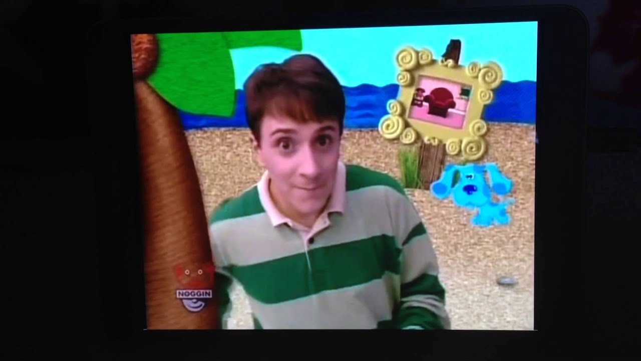 bluesclues blue wants to play a song game - YouTube