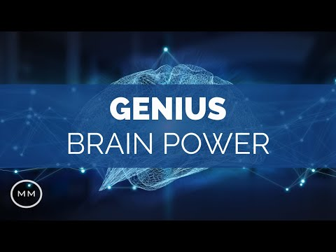 Genius Brain Power (V2) - Super Conscious Connection - Focus Binaural Beats
