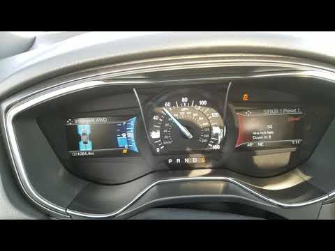 2018 Ford Fusion Sport 0-60 launch torque split