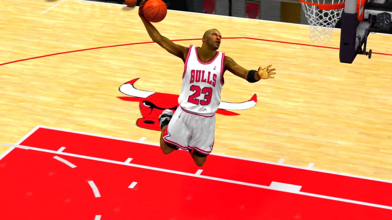 NBA 2K13 Michael Jordan Dunk FREESTYLE 2