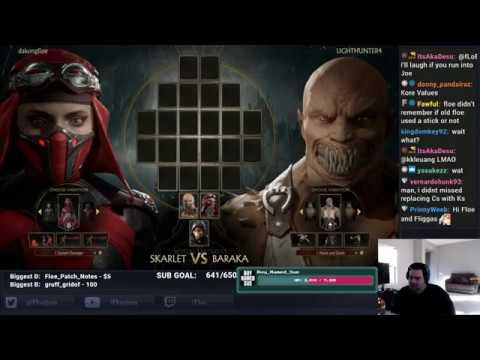 Floe Tries: Mortal Kombat 11 Stress Test Day 1 Part 1 thumbnail