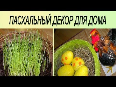 Cмотреть онлайн Пасхальный декор  Много идей.  Украшаем дом на Пасху