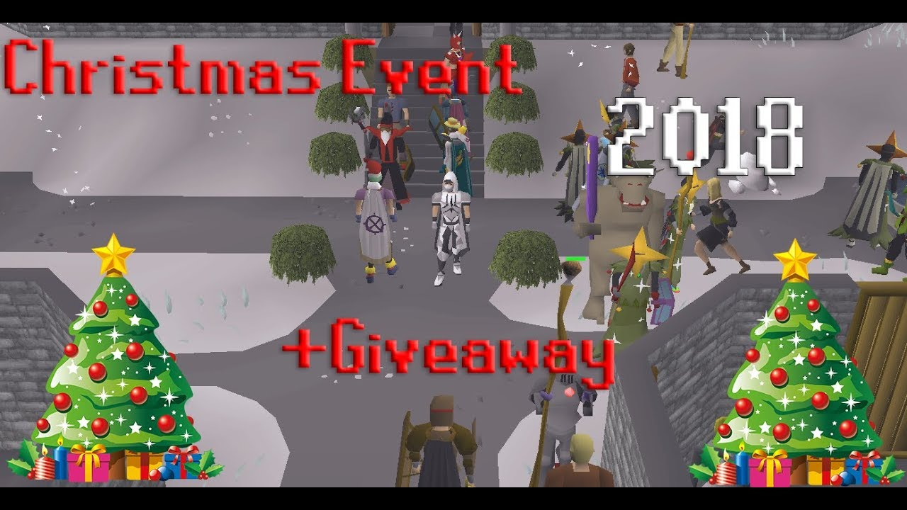 Osrs Christmas.Osrs Christmas Event Guide 2018 Giveaway