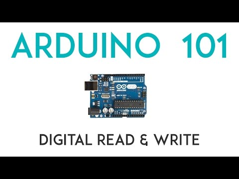 Arduino Lesson 2 - DigitalRead & DigitalWrite