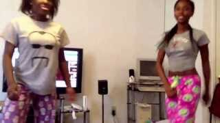 Dancing ur waist by Iyanya with a friend