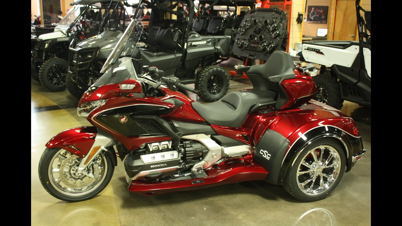 Redesign and Concept 2021 Honda Goldwing Trike